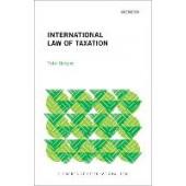 International Law of Taxation - ISBN 9780192898715