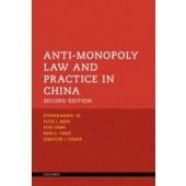 Anti-Monopoly Law and Practice in China - ISBN 9780198704089