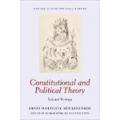 Constitutional and Political Theory: Selected Writings - ISBN 9780198714972