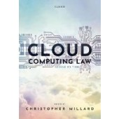 Cloud Computing Law - ISBN 9780198716679