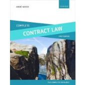 Complete Contract Law: Text, Cases, and Materials - ISBN 9780198749868