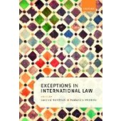 Exceptions in International Law - ISBN 9780198789321