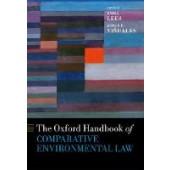 The Oxford Handbook of Comparative Environmental Law - ISBN 9780198790952