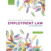 Employment Law: An Introduction - ISBN 9780198806752