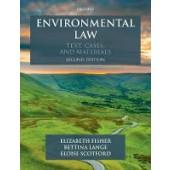 Environmental Law: Text, Cases & Materials - ISBN 9780198811077
