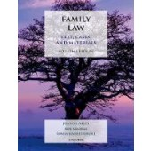 Family Law: Text, Cases, and Materials - ISBN 9780198811848