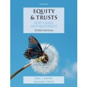 Equity & Trusts: Text, Cases, & Materials - ISBN 9780198821830