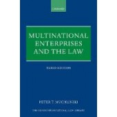 Multinational Enterprises and the Law - ISBN 9780198824138