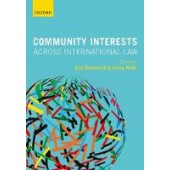 Community Interests Across International Law - ISBN 9780198825210