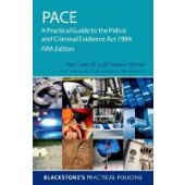 PACE: A Practical Guide to the Police and Criminal Evidence Act 1984 - ISBN 9780198833680