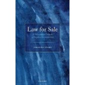 Law for Sale: A Philosophical Critique of Regulatory Competition - ISBN 9780198839491