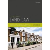 Textbook on Land Law - ISBN 9780198839828