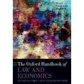 The Oxford Handbook of Law and Economics: Volume 3: Public Law and Legal Institutions - ISBN 9780198845171