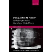 Doing Justice to History: Confronting the Past in International Criminal Courts - ISBN 9780198846871