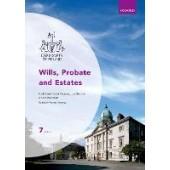 Wills, Probate and Estates - ISBN 9780198846888
