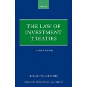 The Law of Investment Treaties - ISBN 9780198850953