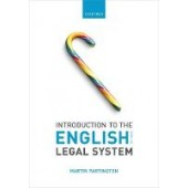 Introduction to the English Legal System - ISBN 9780198852926