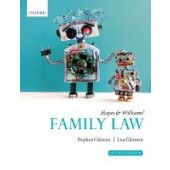 Hayes & Williams' Family Law - ISBN 9780198853855