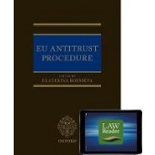 EU Antitrust Procedure: Digital Pack - ISBN 9780198856177
