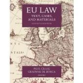 EU Law: Text, Cases, and Materials - ISBN 9780198856641
