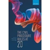 The Civil Procedure Rules at 20 - ISBN 9780198863182