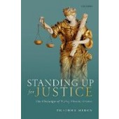 Standing Up for Justice: The Challenges of Trying Atrocity Crimes - ISBN 9780198863434