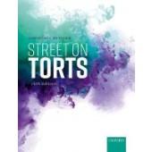 Street on Torts - ISBN 9780198865506