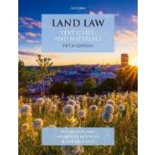 Land Law: Text, Cases and Materials - ISBN 9780198868521