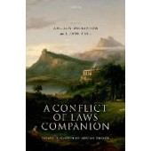 A Conflict Of Laws Companion - ISBN 9780198868958