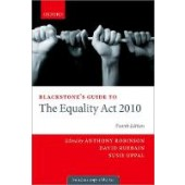 Blackstone's Guide to the Equality Act 2010 - ISBN 9780198870876