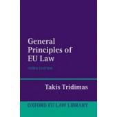 The General Principles of EU Law - ISBN 9780199534715