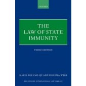The Law of State Immunity - ISBN 9780199647064