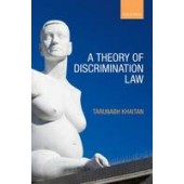A Theory of Discrimination Law - ISBN 9780199656967