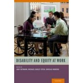Disability and Equity at Work - ISBN 9780199981212
