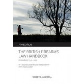The British Firearms Law Handbook - ISBN 9780414044982