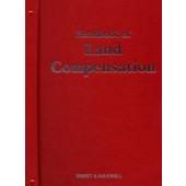Handbook of Land Compensation - ISBN 9780421418509