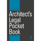 Architect's Legal Pocket Book - ISBN 9781138506695