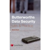 Butterworths Data Security Law & Practice - ISBN 9781405744799