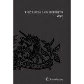 The Times Law Reports Bound Vol 2016 - ISBN 9781474303828