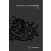 The Times Law Reports Bound Vol 2017 - ISBN 9781474307505
