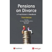 Pensions on Divorce: A Practitioner's Handbook Third Edition - ISBN 9781474310567
