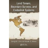 Land Tenure, Boundary Surveys, and Cadastral Systems - ISBN 9781498731652