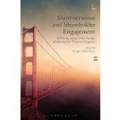 Short-termism and Shareholder Engagement: Addressing Agency Costs through Monitoring and Corporate Litigation - ISBN 9781509913909