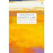 Debates in Charity Law - ISBN 9781509926831