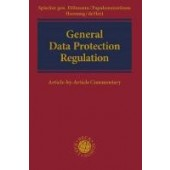 European General Data Protection Regulation: Article-By-Article Commentary - ISBN 9781509932528