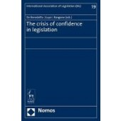 The Crisis of Confidence in Legislation - ISBN 9781509939855