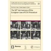 The 50th Anniversary of the European Law of Civil Procedure - ISBN 9781509945924