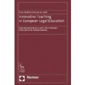 Innovative Teaching in European Legal Education: International Conference within the Framework of the 2019 ELPIS Network Meeting - ISBN 9781509954421