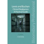 Lewis and Buchan: Clinical Negligence - A Practical Guide - ISBN 9781526505330