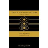 The A-Z of Contract Clauses - ISBN 9781526512154